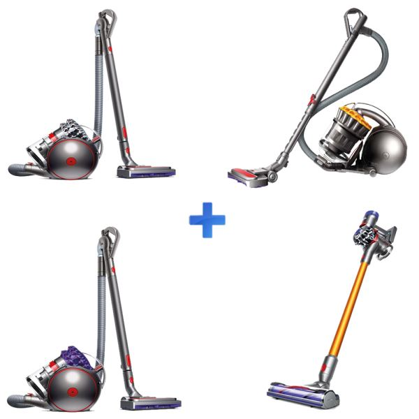 DYSON BIG BALL ANIMAL PRO2+BALL MULTI FLOOR+V8 ABSOLUTE+BIG BALL PARQUET 2 SÜP.