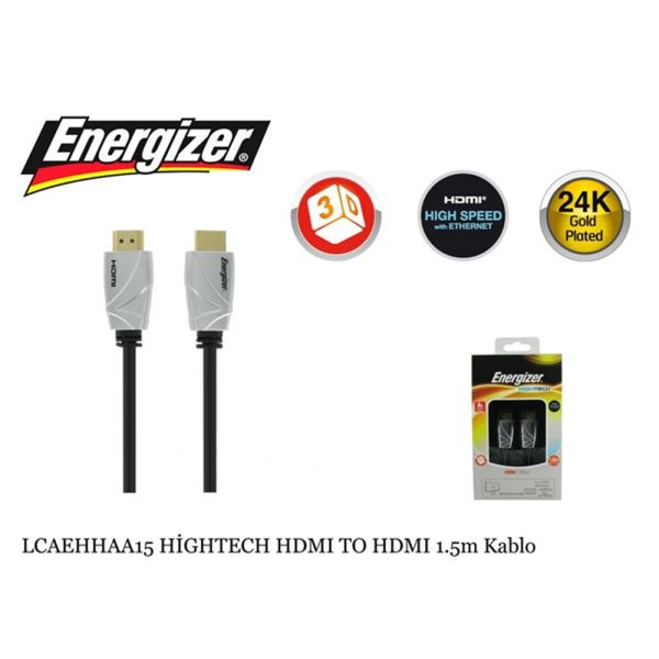LCAEHHAA15 HİGHTECH HDMI TO HDMI KABLO 1.5M
