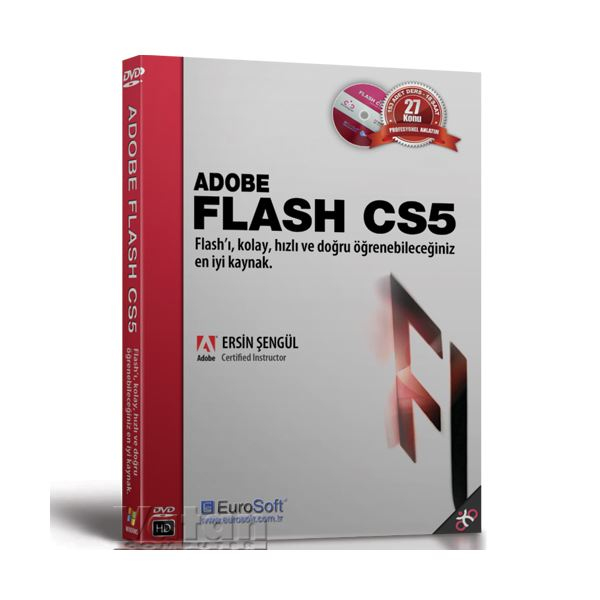 ADOBE FLASH CS5 EĞİTİM DVD