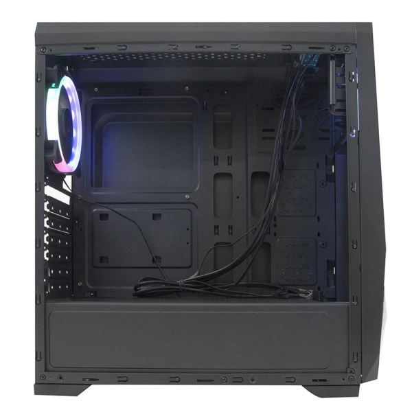 EVEREST X-LINE 1x120mm RAINBOW FAN + Şerit USB 3.0 MidT ATX GAMING KASA