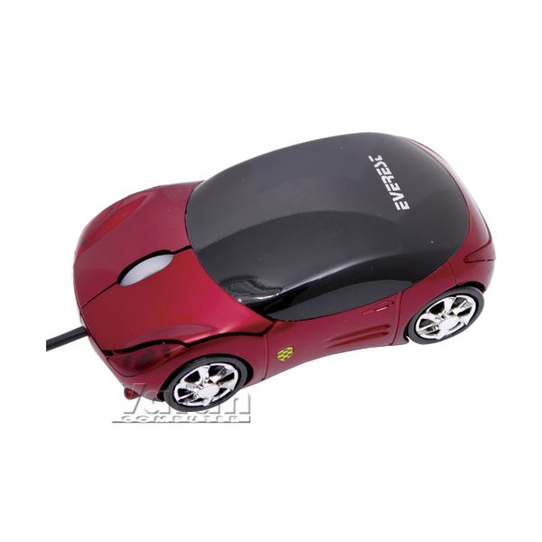 EVEREST SM-855 USB OPTICAL CAR MOUSE (Kırmızı)