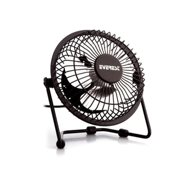 EVEREST EFN-482 USB MASAÜSTÜ METAL FAN