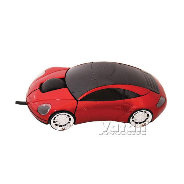 EVEREST SM-755 USB OPTICAL CAR MOUSE Kırmızı