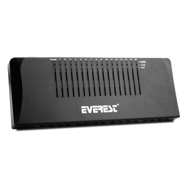 EVEREST ESW1016D 10/100 16 PORT SWITCH