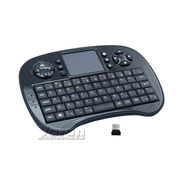 EVEREST KB-252W WIRELESS MINI KEYBOARD WITH TOUCHPAD