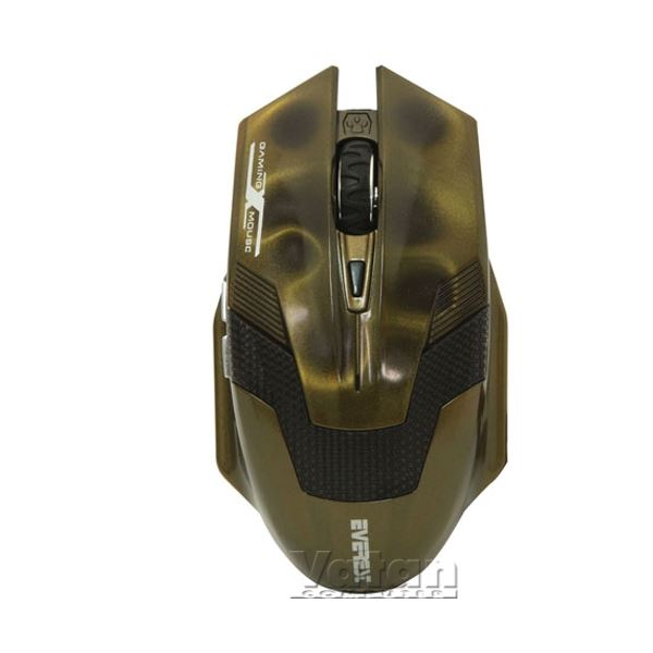 EVEREST SM-612 GAMING MOUSE METALİK YEŞİL