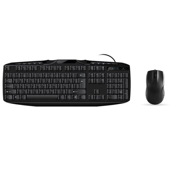 EVEREST UN-796 KLAVYE MOUSE SET -SİYAH