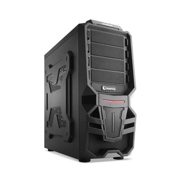 EVEREST RAMPAGE 72 GAMİNG USB 3.0 MidT ATX SİYAH KASA