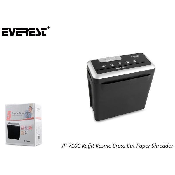 EVEREST JP-710C EVRAK İMHA MAKİNESİ