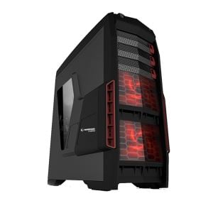 EVEREST RAMPAGE COBRA GAMING 600W SİYAH USB 3.0 MidT ATX KASA