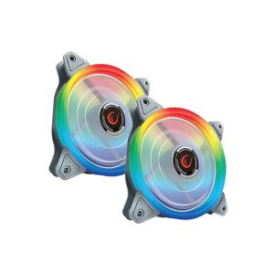 EVEREST RAMPAGE RB-K2 2x120MM GÖKKUŞAĞI LED FAN + FAN KOTROL KİTİ