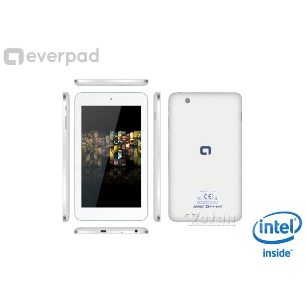 EVERPAD DC-1105  İNTEL ATOM Z2520 1.2GHZ-1GB RAM-8 GB DİSK-7''-CAM-AND.4.2.2
