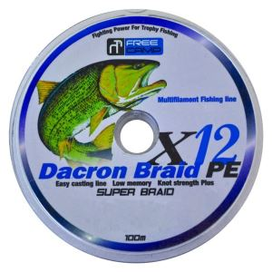 FreeCamp Dakron 12 Braid 100mt 0,50mm Olta Misinası 12PLYS