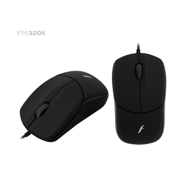 FRISBY FM-320K USB SİYAH OPTİK MOUSE