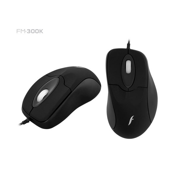 FRISBY FM-300K USB SİYAH OPTİK MOUSE