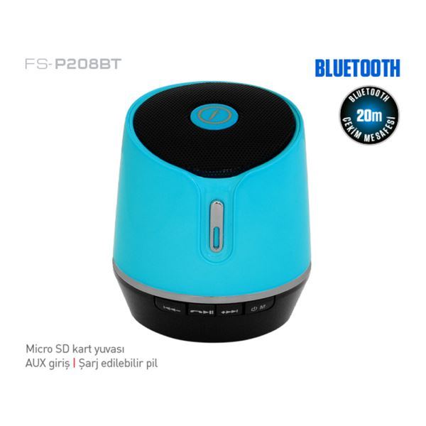 FRISBY FS-P208BT MINI BLUETOOTH SPEAKER - MAVİ