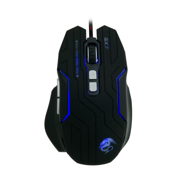 FRISBY GX7 PRO GAMING MAKRO MOUSE + MOUSE PAD