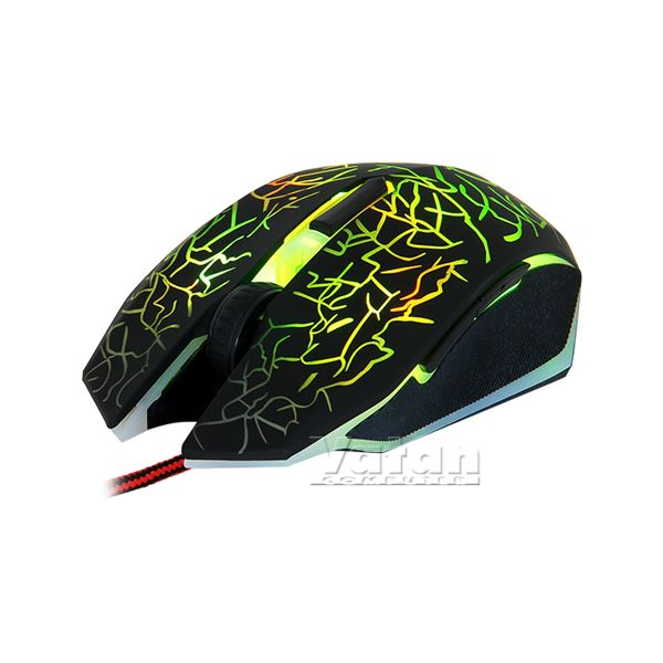 FRISBY FM-G3260K GAMING MOUSE+MOUSE PAD