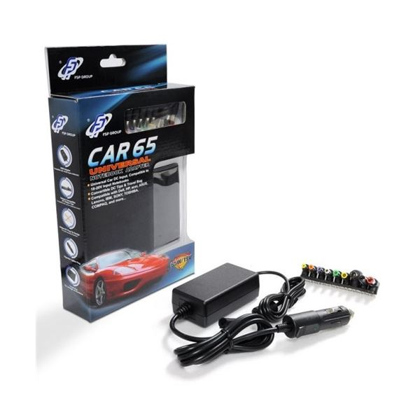 CAR 65W 19V ARAÇTAN POWER NOTEBOOK UNİVERSAL ADAPTÖR