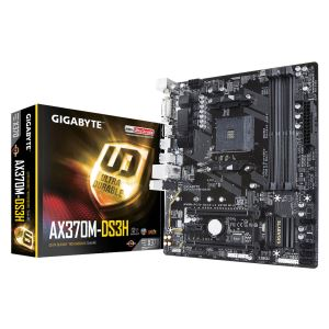 GIGABYTE AX370M-DS3H AMD AX370 Socket AM4 Rzyen DDR4(3200(O.C.)MHz