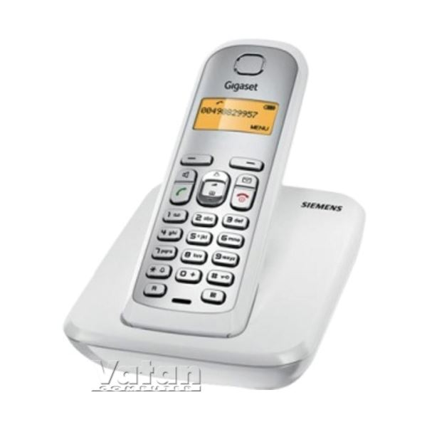 AS290 BEYAZ DECT TELEFON