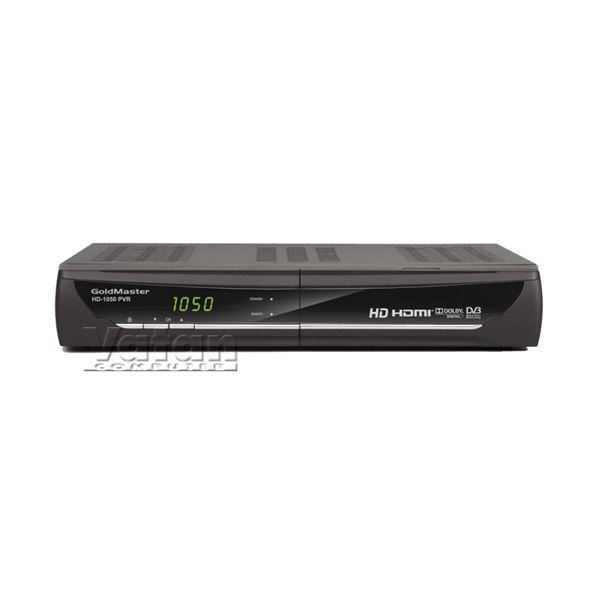 GOLDMASTER HD-1050 PVR Full HD Dijital Uydu Alıcısı, USB, SD kart