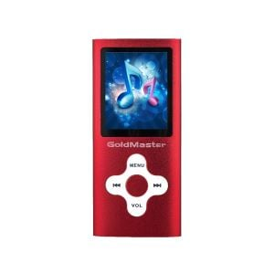 GOLDMASTER MP3-224 8GB MP3 PLAYER (KIRMIZI)