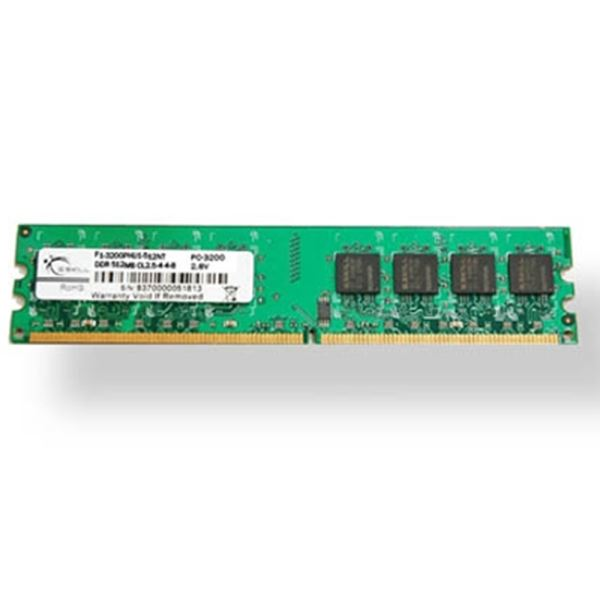 GSKILL 1GB Value DDR 400Mhz CL3 PC 3200 Ram