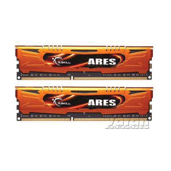 16GB (2x8GB) Ares Orange Low Profile DDR3 1600MHz CL10 Dual Kit Ram
