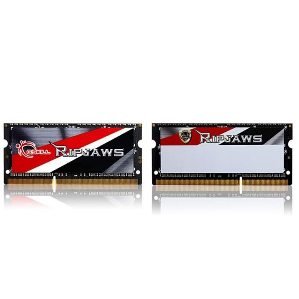 GSKILL 4GB RipjawsX DDR3L 1600MHz 1.35V Low Voltaj CL9 Notebook Ram