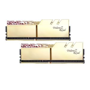 GSKILL 16GB (2x8GB) TRIDENT Z ROYAL GOLD DDR4 3000MHz CL16 Dual Kit RGB LED Ram