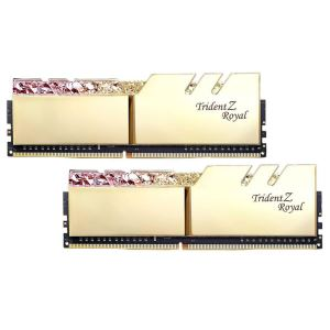 GSKILL 16GB (2x8GB) TRIDENT Z ROYAL GOLD DDR4 3200MHz CL16 Dual Kit RGB LED Ram