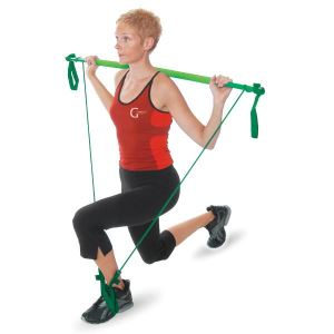 Gymstick Original Light Green 11001 Pilates Barı Yeşil Renk FNS-AKSQQQGYM005