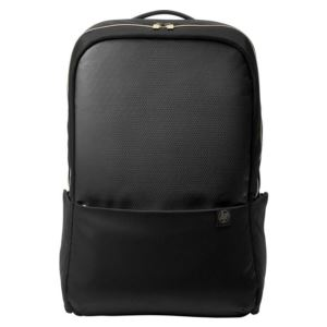 "HP 4QF96AA PAVILION ACCENT BACKPACK 15"" NOTEBOOK ÇANTASI - BLACK/GOLD"
