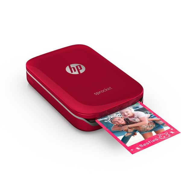 HP SPROCKET KIRMIZI PHOTO YAZICI