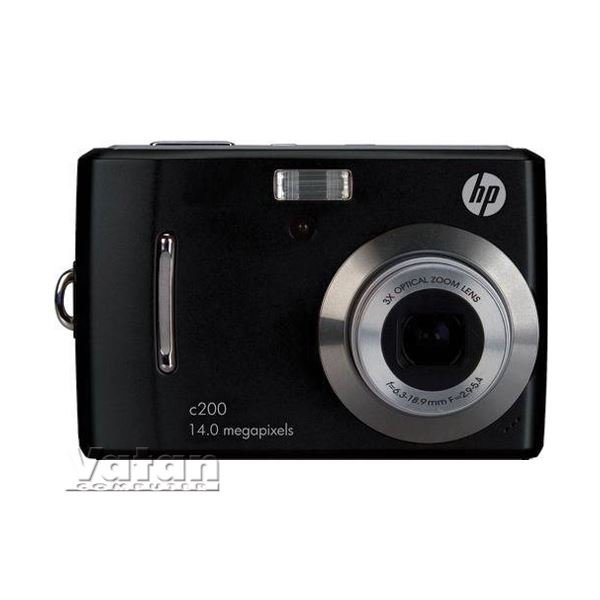 HP DSC C200 14MP Digital Camera