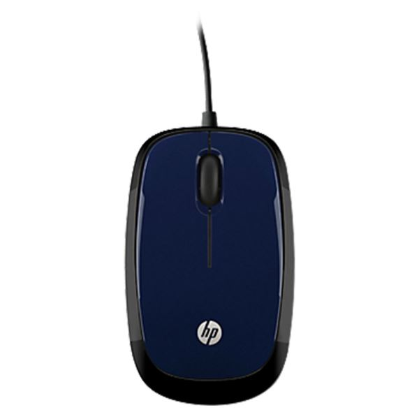 HP X1200 Wired Blue Mouse