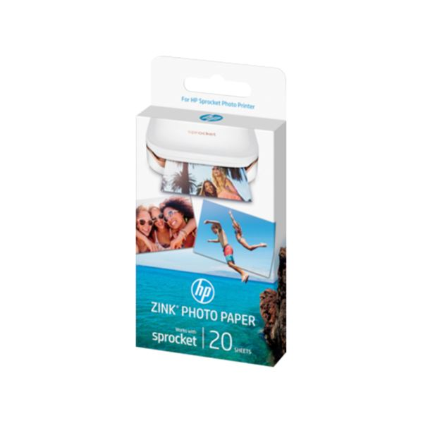 HP SPROCKET ZINK STİCKY PHOTO PRINTER PAPER (W4Z13A)