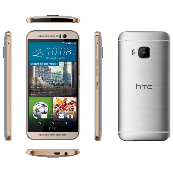 HTC ONE M9 GRİ/GOLD AKILLI TELEFON