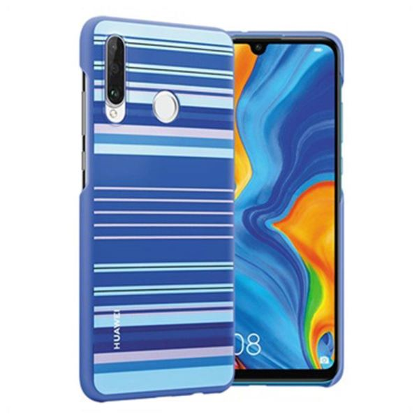 HUAWEI P30 LİTE COLORFUL CASE-  MAVİ