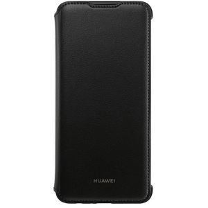 HUAWEI POTTER P SMART 19 FLİP COVER -SİYAH