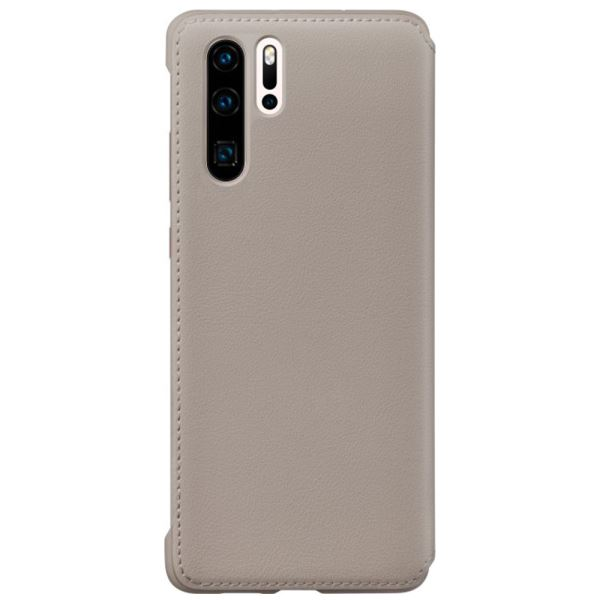 HUAWEİ VOGUE P30 PRO SMART VİEW FLİP COVER-KHAKİ