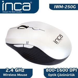 INCA IWM-250G WIRELESS NANO MOUSE GRİ-SİYAH