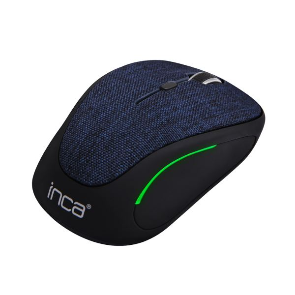 INCA IWM-300RL KUMAŞ YÜZEY 7 LED WİRELESS MOUSE