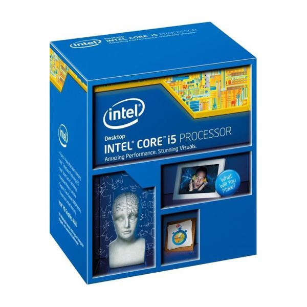 Intel Core i5 4690K Soket 1150 3.5GHz 6MB Önbellek 22nm İşlemci