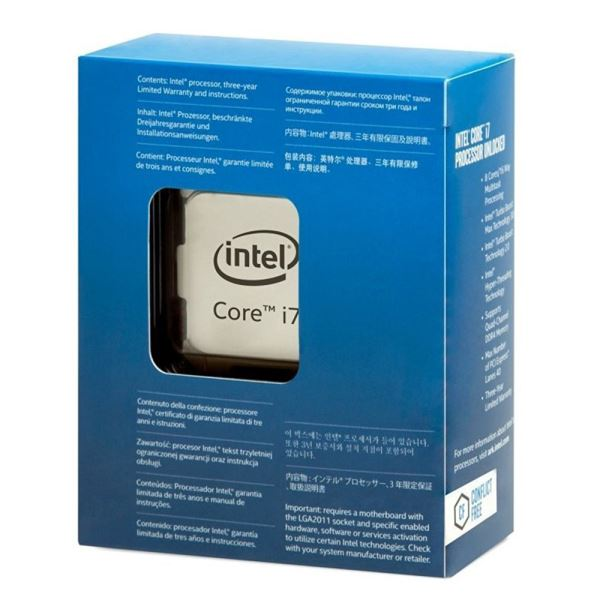 Intel Core i7 6900K Soket 2011V3 3.2GHz 20MB Önbellek 14nm İşlemci