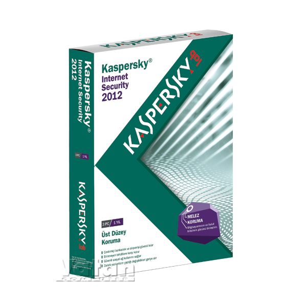 KASPERSKY INTERNET SECURITY 2012 (3 KULLANICI)