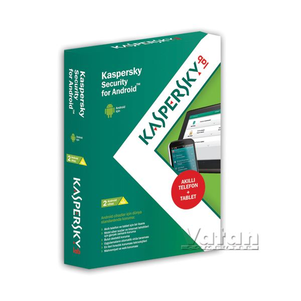 KASPERSKY SECURITY FOR ANDROID (2 Android Cihaz / 1 yıl)