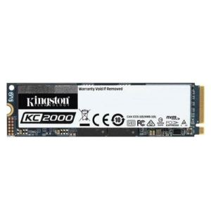 Kingston 500GB KC2000 Serisi NVMe M.2 SSD (3000MB Okuma/2000MB Yazma)