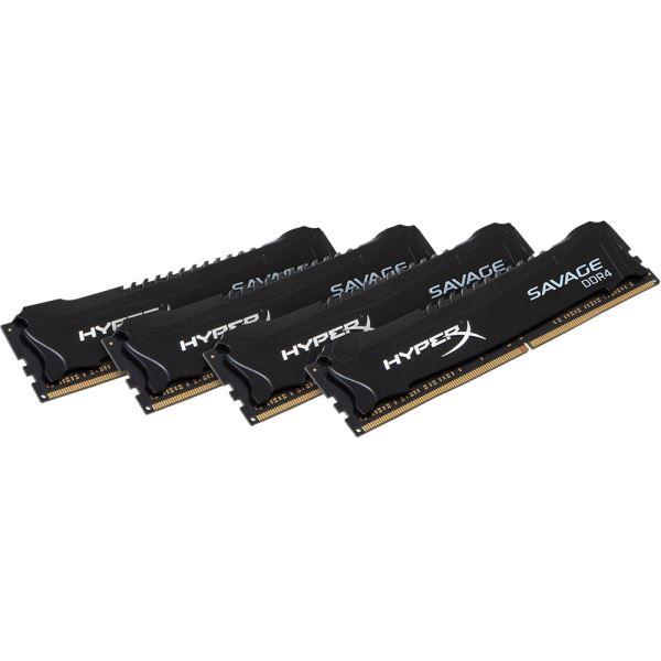 Kingston 32GB (4x8GB) HyperX SAVAGE Black DDR4 2133MHz CL13 1.2V XMP Ram